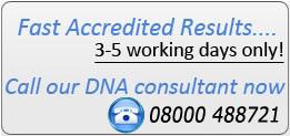 Prueba de ADN confidencialidad